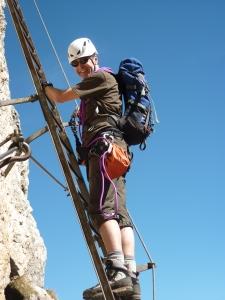 Leading on Via Ferrata - Dolomites