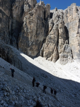 Plan De Sas, abova Boe lift, Dolomites