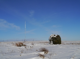 Winter Hill Mast from Two Lads