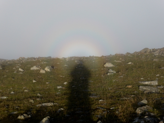 Brocken Spectre, on Pillar, Lake District, UK