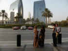 Dubai, all dressed up for trip up Burj Khlifa
