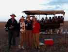 Sundowner on Masi Mara