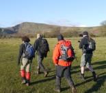 Walking in Hope Valley, Peak District