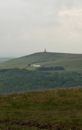 Darwen Tower from Great Hill