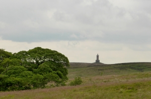 Approaching Darwen Tower