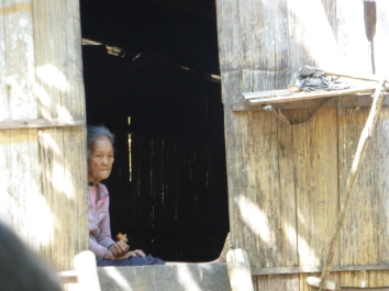 Local Villager in Tra