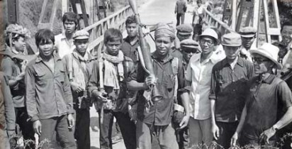 Khmer Rouge soldiers were usually made up of teenage peasants