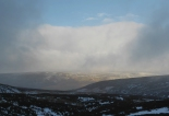 Break in the shower over Crowden