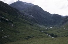 Looking back down to Glen Nevis