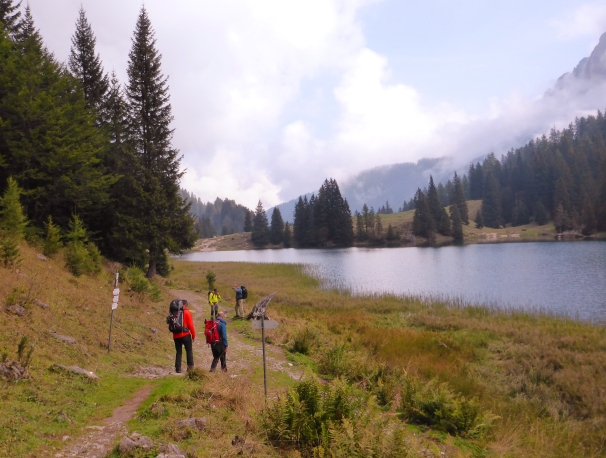 Lago di' Val d'Agola.