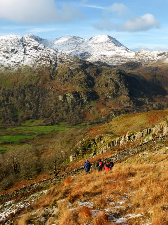 Snowdon Range from Slopes of Y Cribau